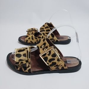 Topshop Sandals Animal Print Size 37